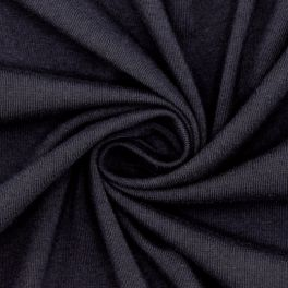 Jersey fabric - navy blue