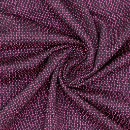 Mesh fantasy fabric in polyester