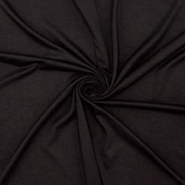 Extensible apparel fabric - black