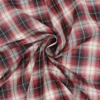 Veil of cotton with plaids