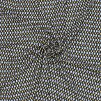 Printed polyester fabric type crêpe