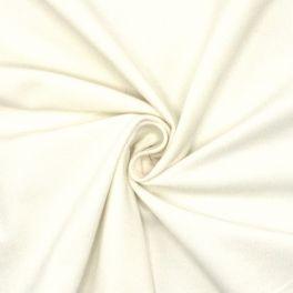 Extensible needlecord fabric - white