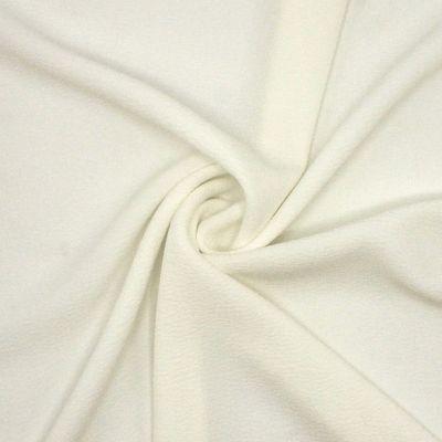 Crêpe lourd gaufré blanc