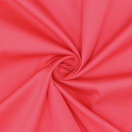 Extensible satin of cotton - pomegrenate red
