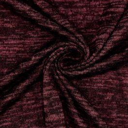 Tissu maille en polyester chiné