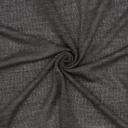 Marbled knit fabric - grey and taupe