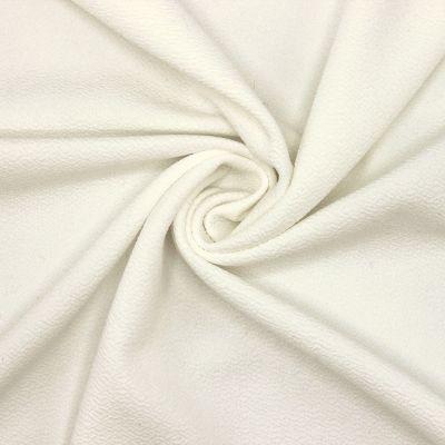 Crêpe lourd extensible blanc