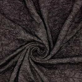 Jersey froissé gris
