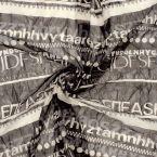 Bedrukt gebreide stof in polyester