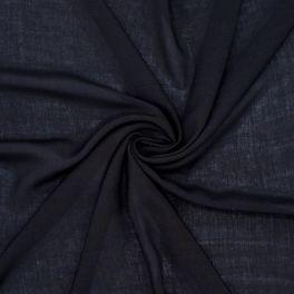 Rekbare viscose - zwart
