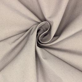 Popeline in polyester en katoen - grijs