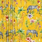 Outdoor fabric with print of animals