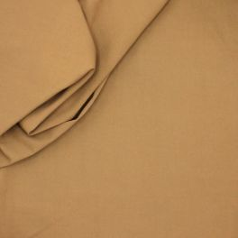 Extensible cotton with twill weave - cinnamon
