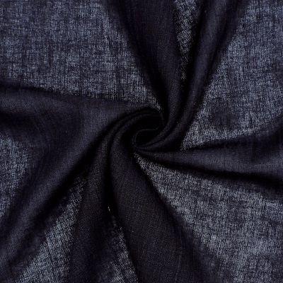 Marbled crêpe veil - black