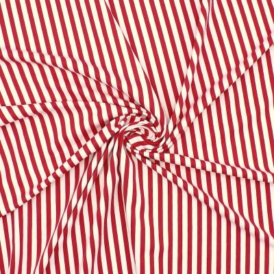 Polyamide and lycra fabric with stripes
