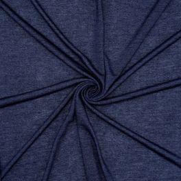 Jersey viscose imitation bleu jeans