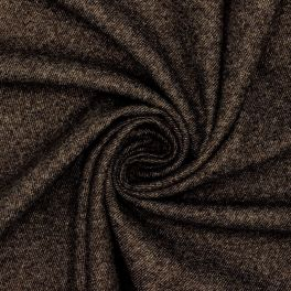 Flannel of wool - brown