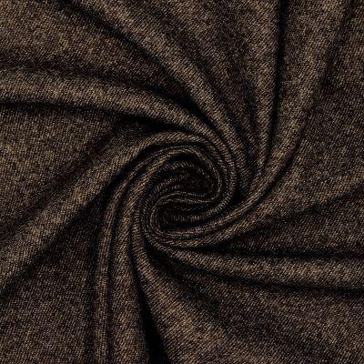 Flanelle de laine brune