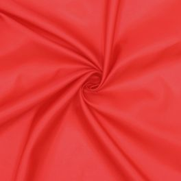 100% polyester lining - red