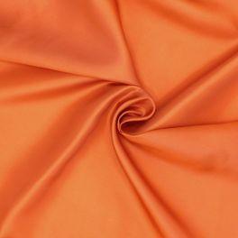 Satinized lining - burnt orange