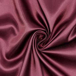 100% polyester satin lining - burgondy