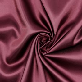 Doublure satin 100% polyester bordeaux
