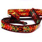 Embroided fantasy ribbon