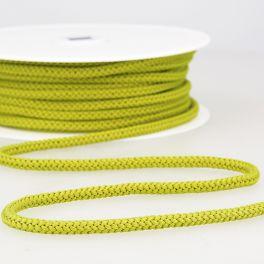 cordon tricoté anis