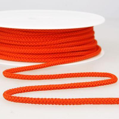 cordon tricoté orange