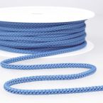 Braided cord - nattier blue