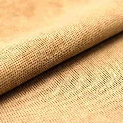 Upholstery fabric with velvet feel