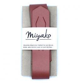 Unique strap - burgondy