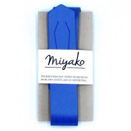 Unieke riem - koningsblauw