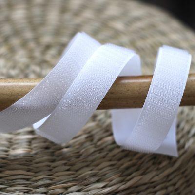 Velcro crochet  à coudre blanc