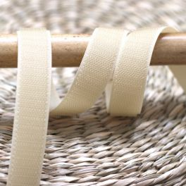 Hook velcro to sew - beige