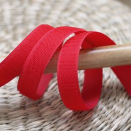 Hook velcro to sew - red