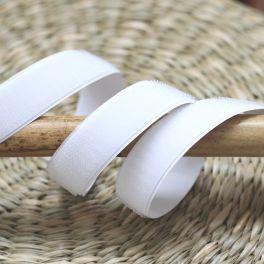 Velcro crochet  adhésif blanc