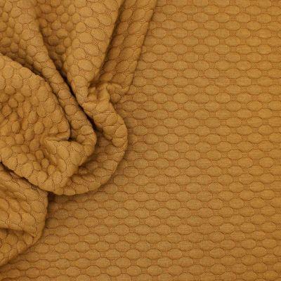 Tissu jersey à motif relief camel