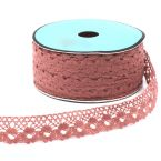 Lace ribbon - old pink
