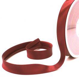 Satin bias binding 20mm - red