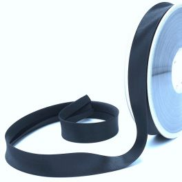 Satijn biaisband 20mm - marineblauw