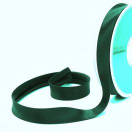 Satijn biaisband 20mm - glasgroen