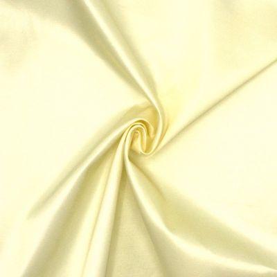 Stof in polyester en katoen - bruin