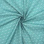Printed cotton - blue