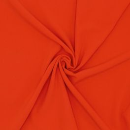 Stretch fabric with twill weave - red
