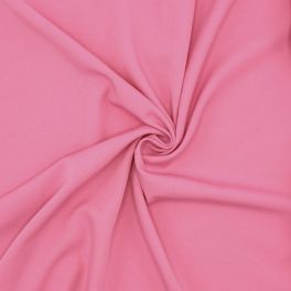 Stretch fabric with twill weave - pink
