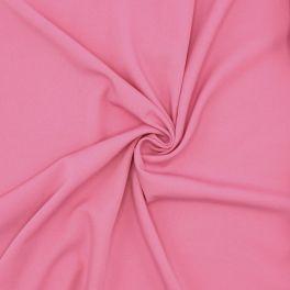 Stretch stof met keperbinding - roos
