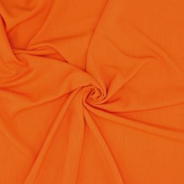 Stretch fabric with twill weave - orange