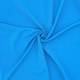 Rekbare stof met keperbinding - blauw
