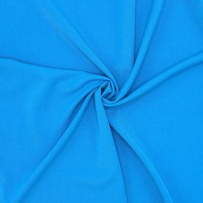Extensible fabric with twill weave - blue